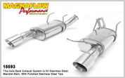 "Magnaflow Stainless 3.0"" Street Series Axle Back System 11-12 Mustang GT"