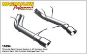 "Magnaflow Stainless 3.0"" Competition Series Axle Back System 11-12 Mustang GT"