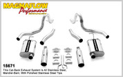 "Magnaflow Stainless 2.5"" Cat-Back System 99-04 Mustang GT, Mach 1"