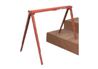 Tote-a-Horse Folding Steel Sawhorse w/ Adjustable Legs