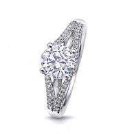 Split-Shank Engagement Ring Setting (0.21ctw)