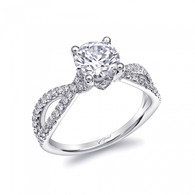 Braided Engagement Ring Setting (0.40ctw)