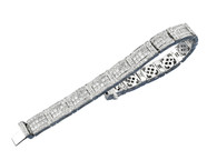 5.55ctw Round & Princess Cut Designer Diamond Bracelet