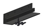Dual Rack Splice Bar - Black
