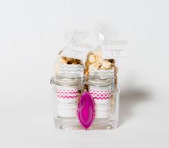 Fluffpop & Hotpoppin Gift Set | Custom LVcr8 Agate Candy Bowl