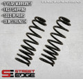 "Street Edge 83-97 S10 Blazer/Jimmy 2WD 4cyl 2"" to 3"" Front Lowering Spring Set"