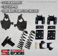 """14+ Chevy Silverado/GMC Sierra Extended,Crew Cab 1500 2WD 3"""" Front & 5"""" Rear Lowering Kit"""