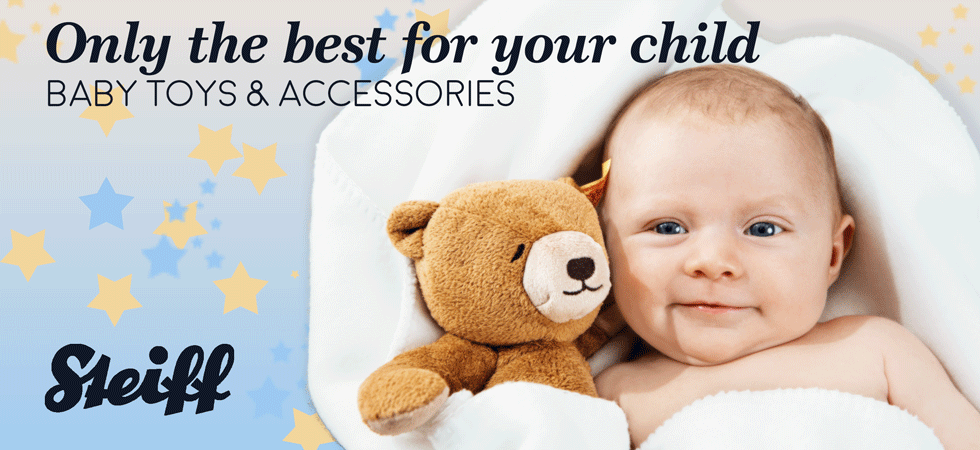 Give your Baby a Gift of Steiff