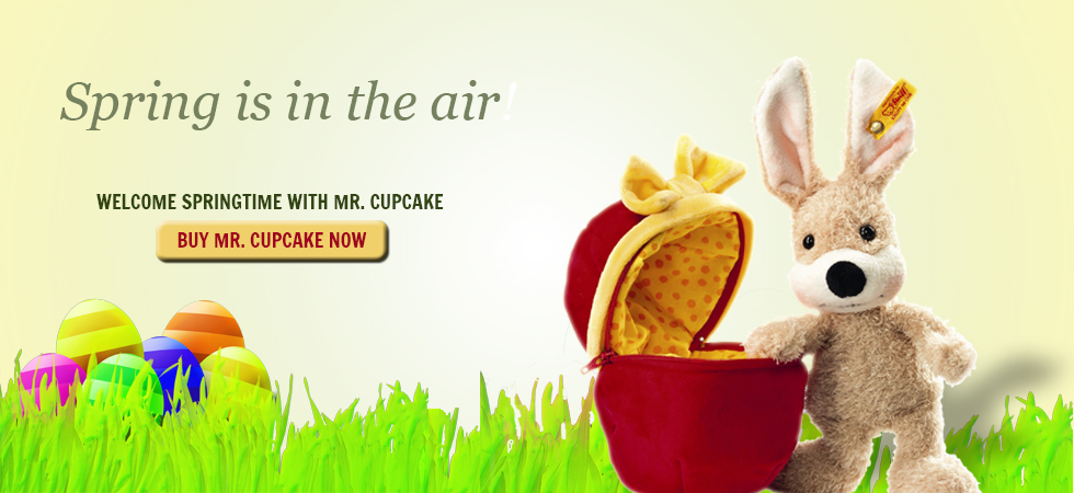 Welcome Spring with Mr. Cupcake