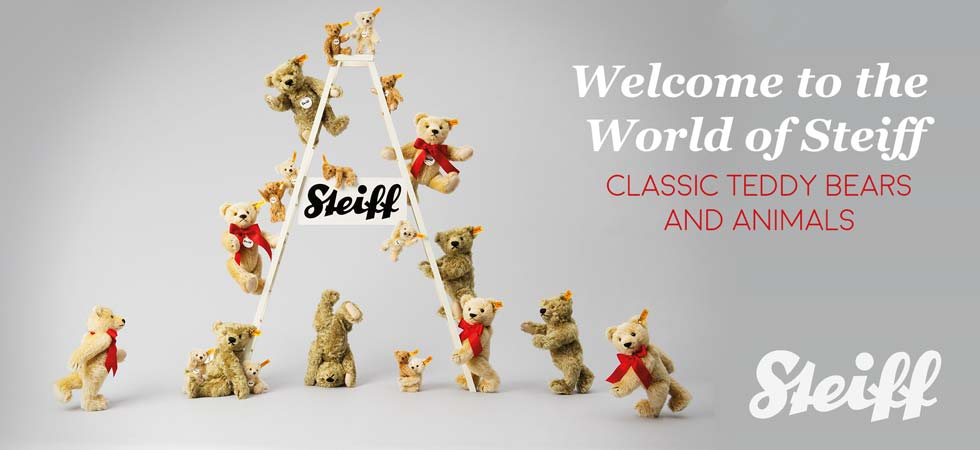 Shop Steiff Classic Teddy Bears and Animals