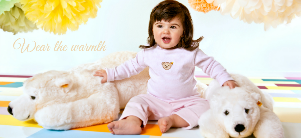 Wear the warmth of Steiff! Steiff Clothing for Babies * Children