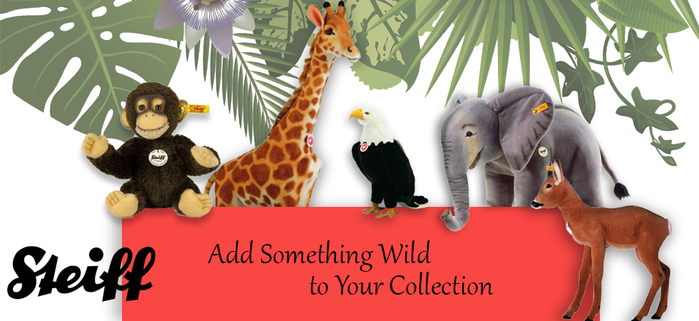 Steiff Animals for Children's Wild Imagination