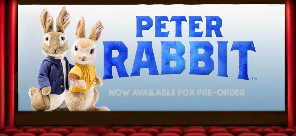 Peter Rabbit and Mopsy Rabbit now available for pre-order