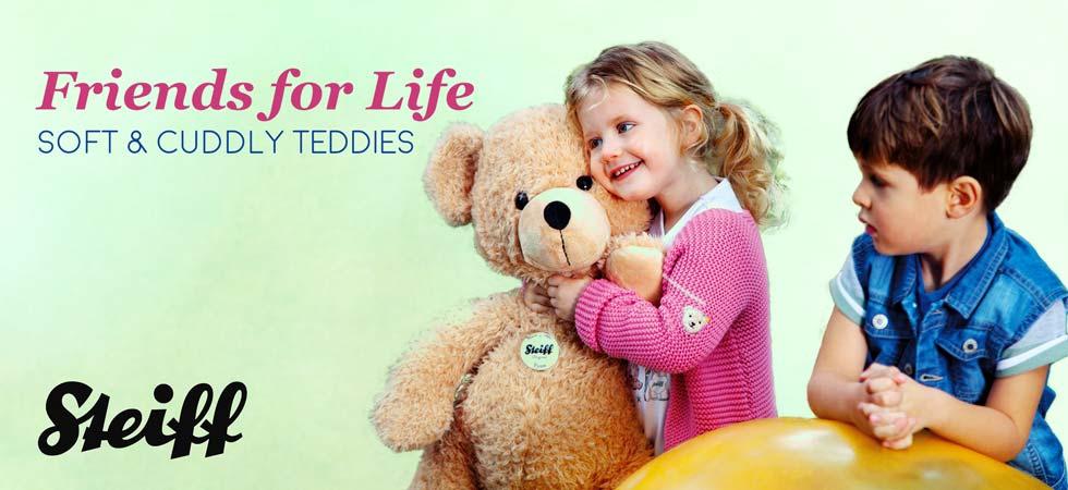 Shop Steiff Soft and Cuddly Teddy Bears