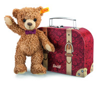 Steiff Carlo Teddy Bear In Suitcase EAN 109973