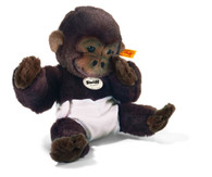 "Steiff Baby Gorilla ""Mary Zwo"" EAN 345777"