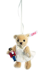 Clara the Nutcracker  Teddy Bear Ornament EAN 682353