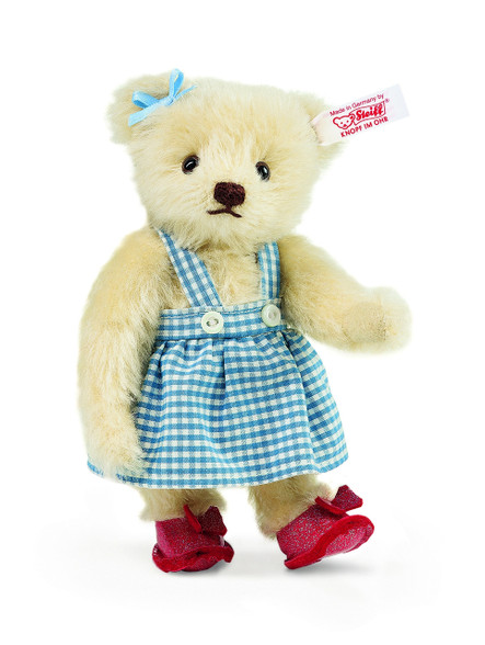Steiff Dorothy the Wizard Of Oz Miniature Teddy Bear EAN 682490