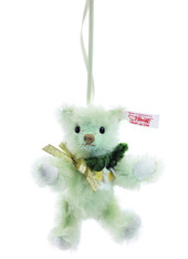 Teddy Bear Christmas Rose Ornament EAN 035302
