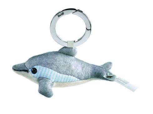 Steiff Selection Felt Dolphin Keyring Seaside EAN 035708