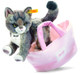Steiff Kitty Cat With Bag EAN 099359