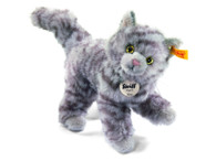 Steiff Kitty Cat Gray Tabby EAN 099410