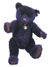 Steiff Prince the Purple Trademark Bear EAN 681691