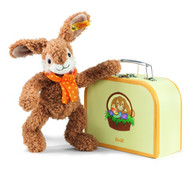 Steiff Jolly Rabbit in Suitcase EAN 113499
