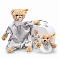 Sleep Well Bear Comforter and Grip Toy Gift Set EAN 240980