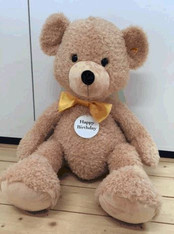 Happy Birthday Fynn Teddy Bear EAN 110894