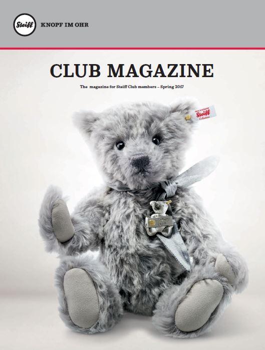 steiff club magazine 2017 issue 1 steiff online shop usa. Black Bedroom Furniture Sets. Home Design Ideas