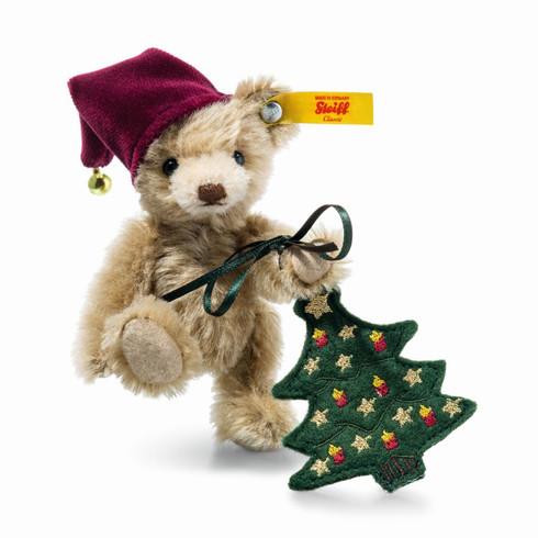 Nic Teddy Bear With Christmas Tree EAN 026782