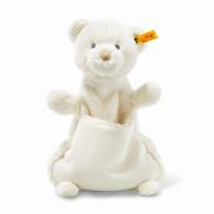Steiff Giggles Teddy Bear Comforter Soft Cuddly Friends EAN 240737