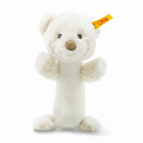 Steiff Giggles Teddy Bear Rattle Soft Cuddly Friends EAN 240782