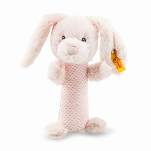 Steiff Belly Rabbit Rattle Soft Cuddly Friends EAN 240805