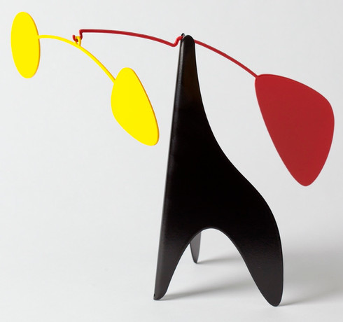Ekko Original Desktop Mobile in Yellow and Red