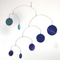 Leah Pellegrini Glass Circles Mobile