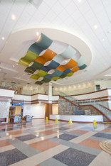 Rolling Horizons Ceiling Feature