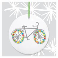 Bike Holiday Ornament