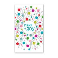 Peace + Joy Wreath Enclosure Cards