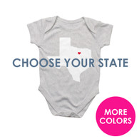 State Love Baby Bodysuit