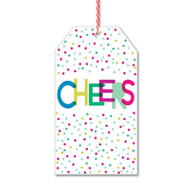 Cheers Dots Gift Tags by Rock Scissor Paper
