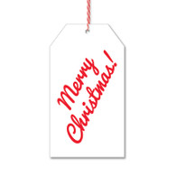 Merry Christmas Gift Tags by Rock Scissor Paper