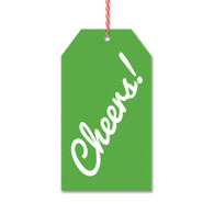 Cheers Gift Tags by Rock Scissor Paper