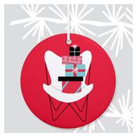Butterfly Chair Ornament by Rock Scissor Paper