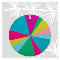 Bright Spectrum Holiday Ornament by Rock Scissor Paper