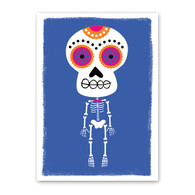 Boneshaker Skeleton Halloween Card by Rock Scissor Paper