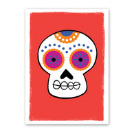 Skull Halloween Card by Rock Scissor Paper