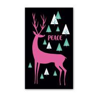 Pink Deer Mini Cards by Rock Scissor Paper