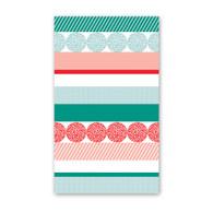 Holiday Stripe Mini Cards by Rock Scissor Paper